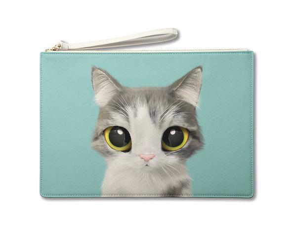 Large Pouch_SugarCat CandyDoggie_Gurumi the Persian Cat