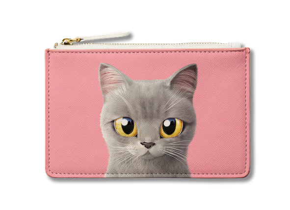 Small Pouch_SugarCat CandyDoggie_Somi the British shorthair cat