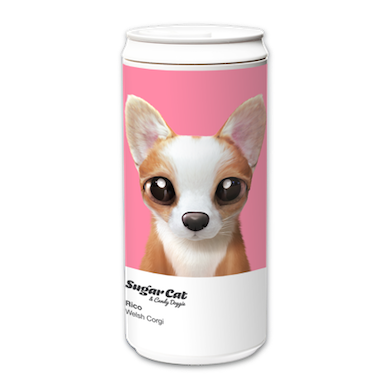 ECO Can 330ml_SugarCatCandyDoggie_Rico the Welsh Corgi