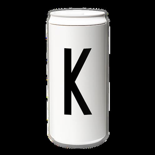 EcoCanPlus330ml_Letter K with Tyvek mug holder
