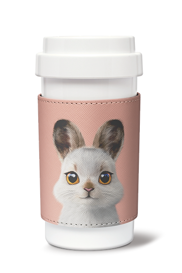 Cafe plus 400ml w/ PU sleeve_SugarCat CandyDoggie_Bunny The Mountain Har