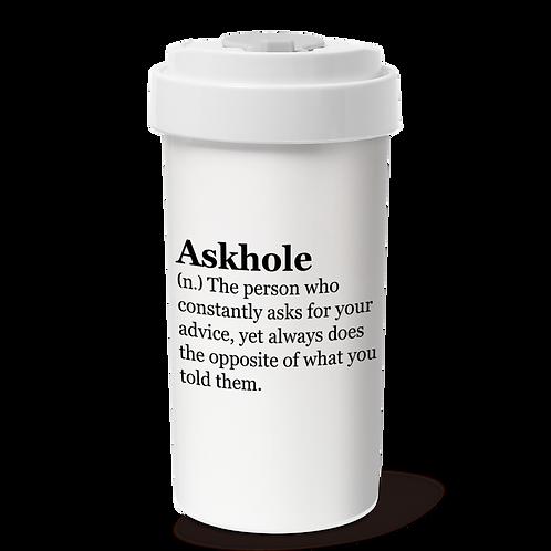 Cafe Plus 400ml_Askhole_w/ Tyvek mug holder