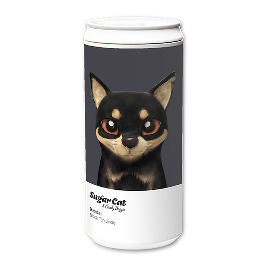 ECO Can 330ml_SugarCat CandyDoggie_Bandal the Black Tan