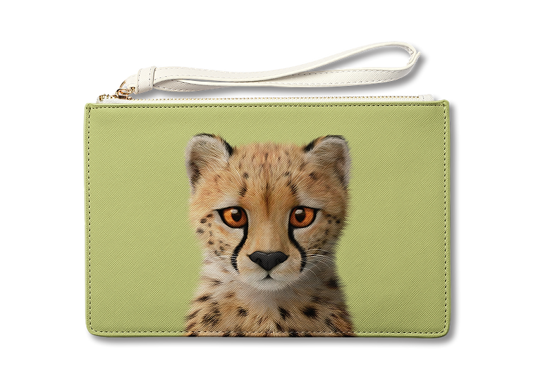 Medium Pouch_SugarCat CandyDoggie_Samantha The Cheetah