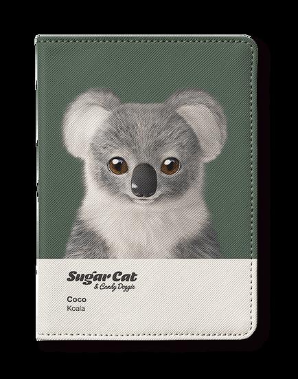 Passport Holder_SugarCat CandyDoggie_Coco the Koala