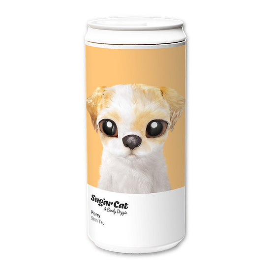 ECO Can 330ml_SugarCat CandyDoggie_Porry the Shih Tzu