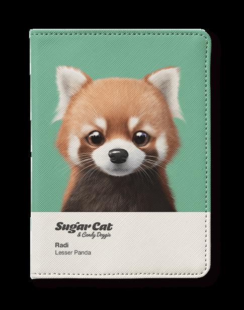 Passport holder_Radi the Lesser Panda.pn