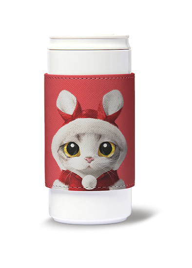 ECO Can Plus 330ml w/ sleeve_SugarCat CandyDoggie_Santa Zero