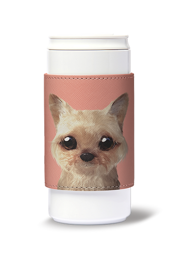 ECO Can Plus 330ml w/ sleeve_SugarCat CandyDoggie_Omji the Yorkshire Terrier