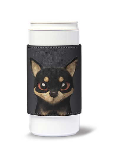 ECO Can Plus 330ml w/ sleeve_SugarCat CandyDoggie_Bandal the Black Tan