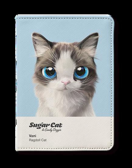 Passport Holder_SugarCat CandyDoggie_Vani the Ragdoll cat
