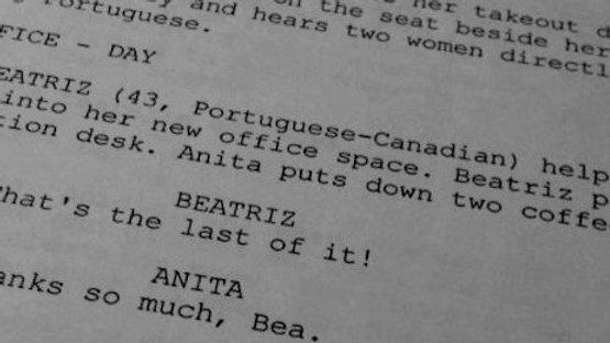 Short Film Screenplay Critique