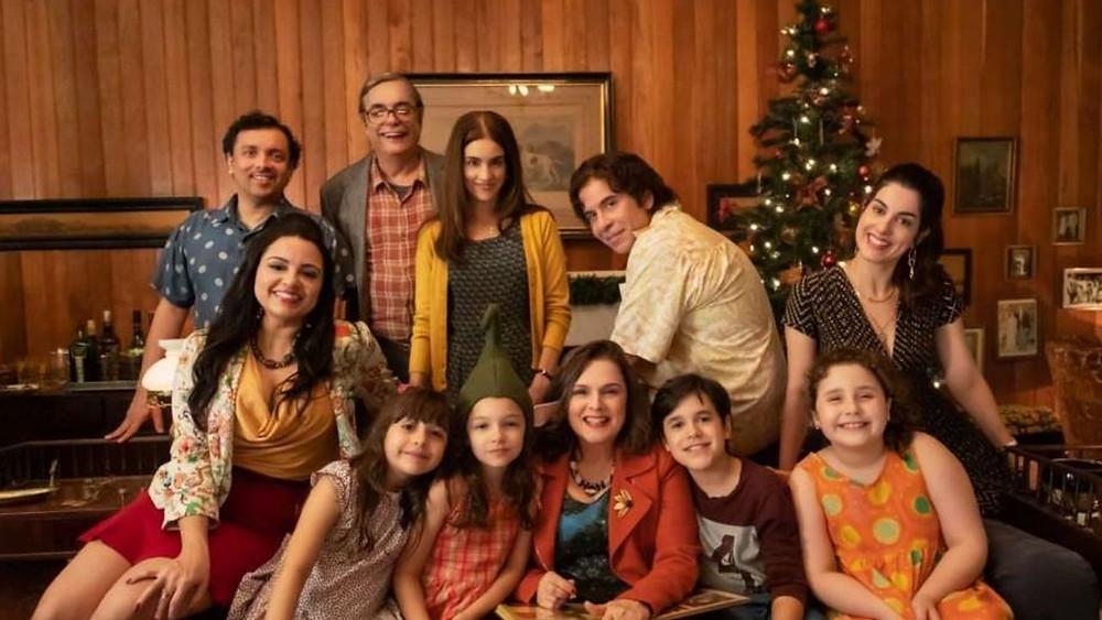 Tudo bem no Natal que Vem Foto promocional da família
