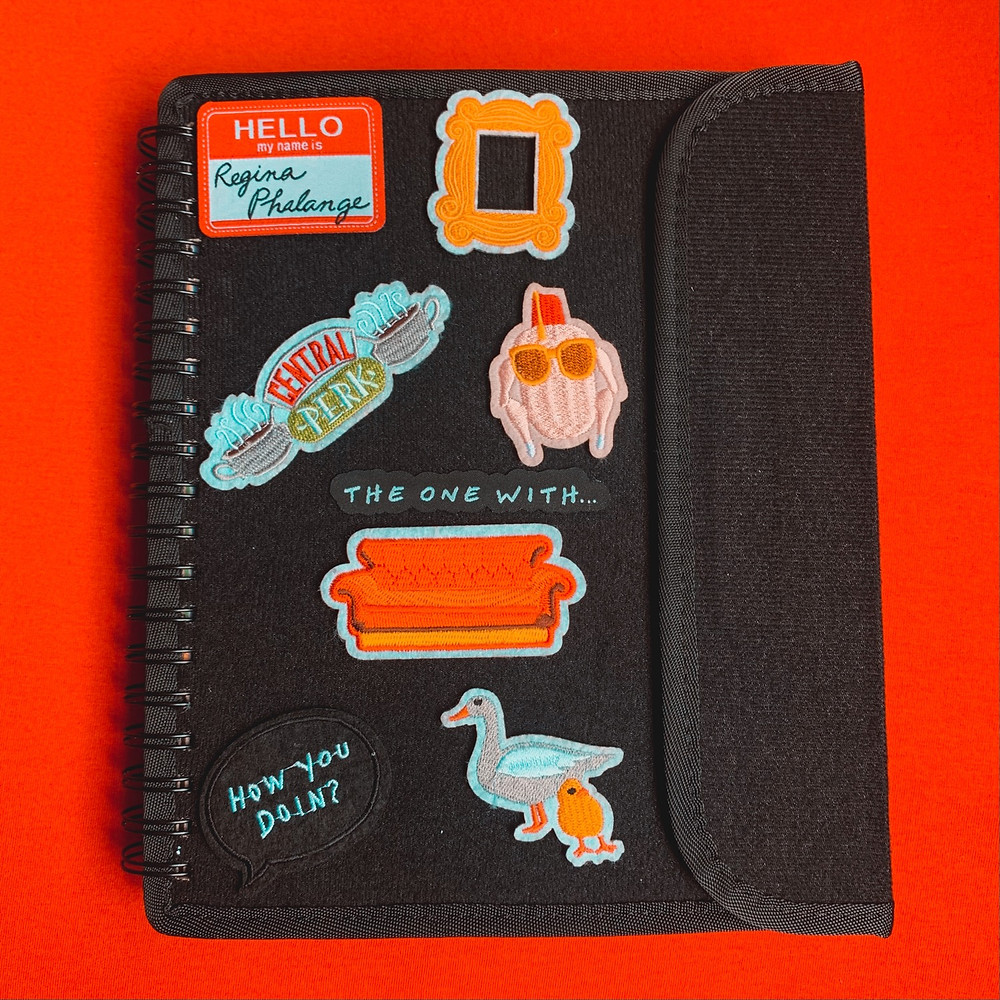 Planner 2021 friends patches