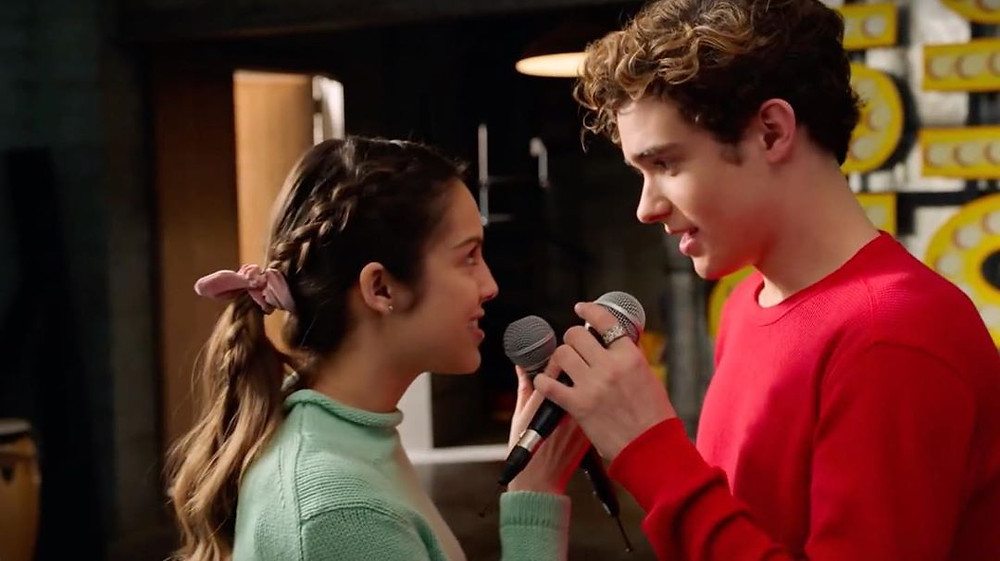 Nini and Ricky of High School Musical The Musical The Series