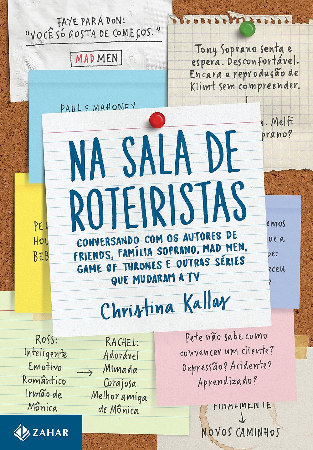 Livro Na Sala de Roteiristas Christina Kallas