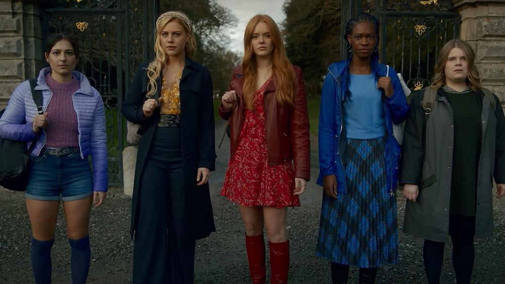 Musa, Stella, Bloom, Aisha e Terra de Fate A Saga Winx Netflix