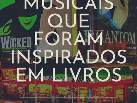 13 MUSICAIS INSPIRADOS EM LIVROS