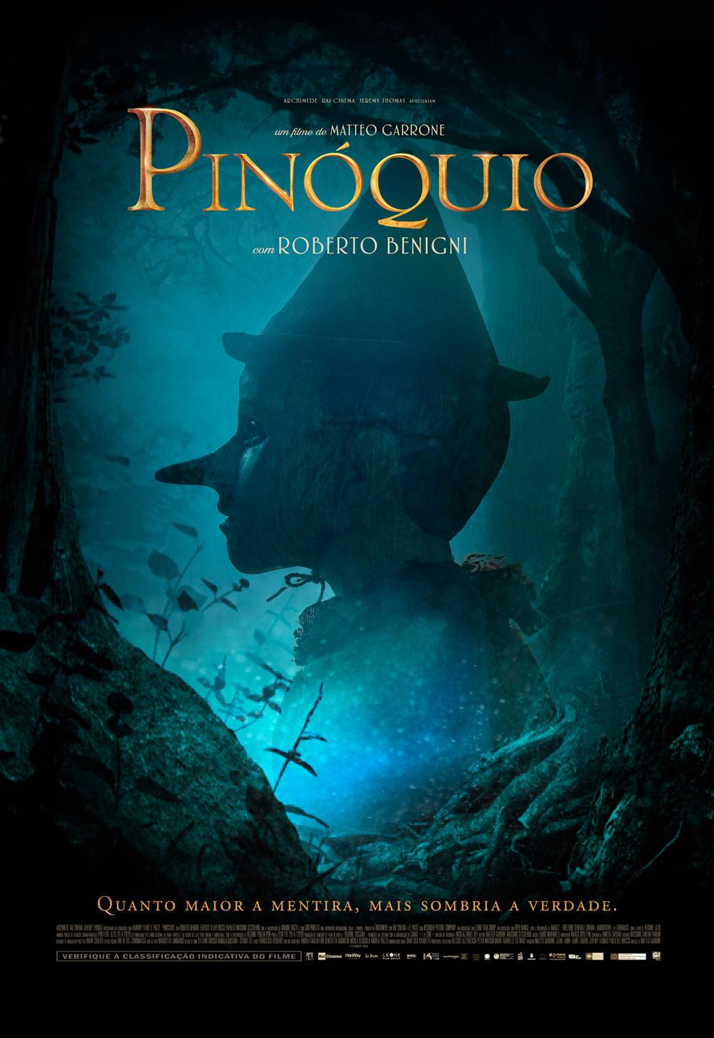 Pinoquio poster filme