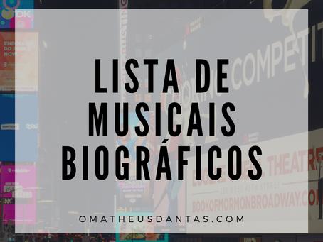 9 MUSICAIS BIOGRÁFICOS