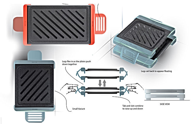 Concept Designs Micro Grill mirowave innovation