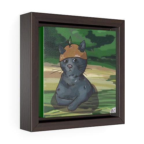 Kitten Premium Gallery Canvas with Frame