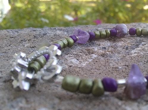 Purple Blossom Bracelet