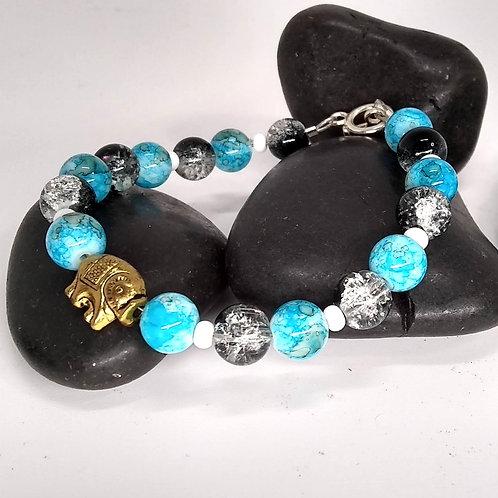 Golden Elephant Bracelet