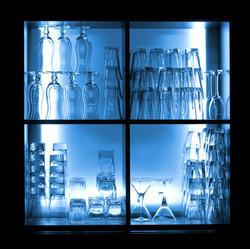 Armoire à verres