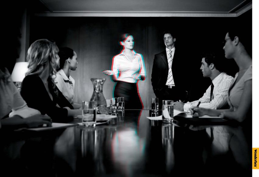 Wonderbra boardroom