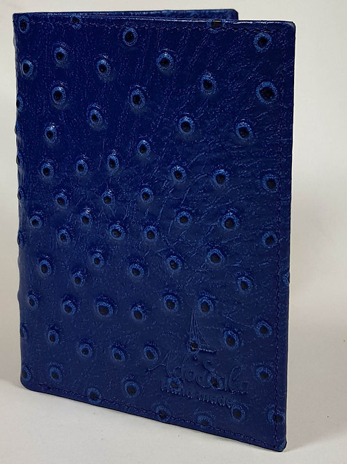Portemonnaie Straus blau