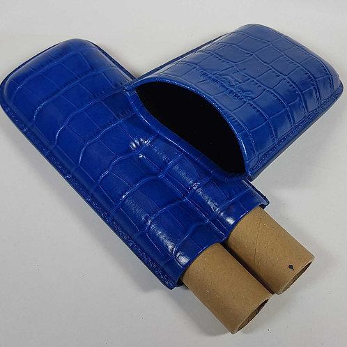 Ziggarenetui Croco blau