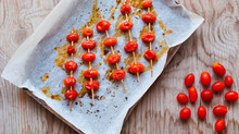 Brocheta de tomate