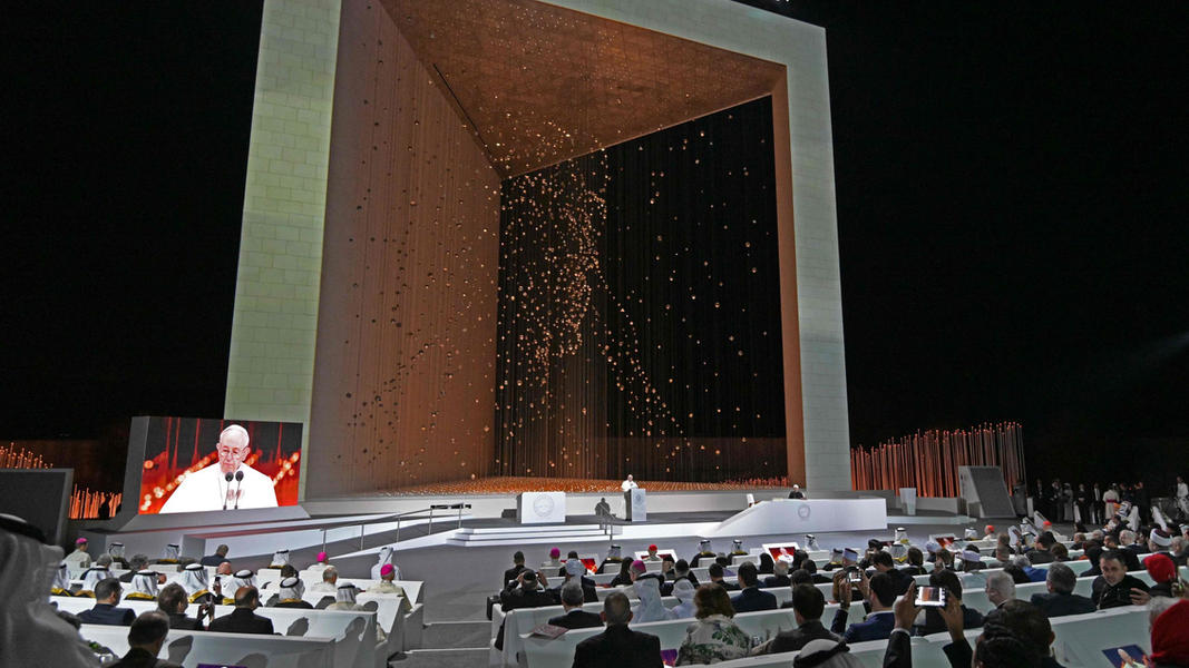 Pope Francis' Visit at the Founder's Memorial