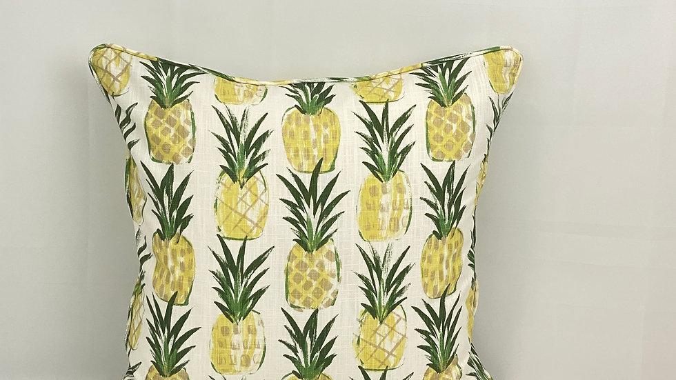 Tropic Pine Slub Canvas Pillow Cover