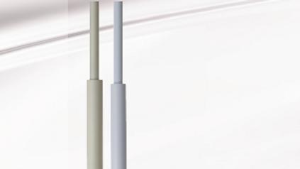 "Sahara 36"" X 1/2"" Fluted Acrylic Baton"