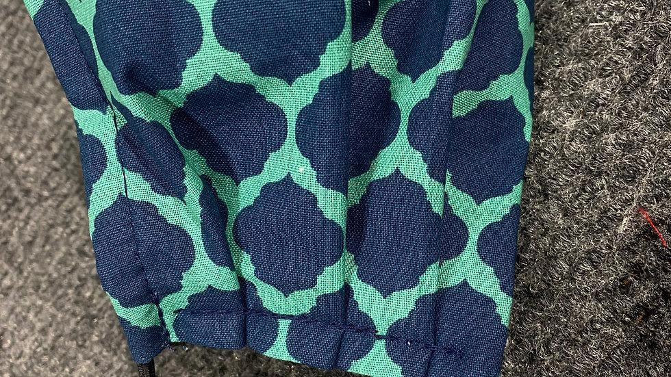 Blue Turtle Back Mask