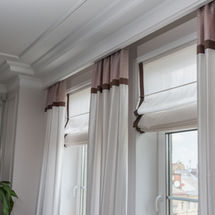 Curtains in the interior, Curtain interi