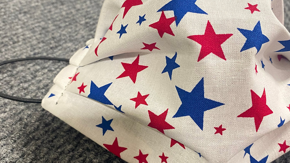 Patriotic Stars Face Mask