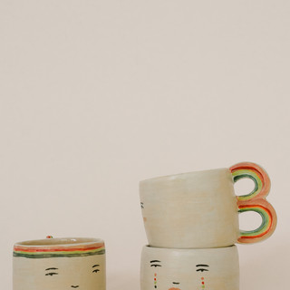 mug collab with betsy croft pottery for my little belleville