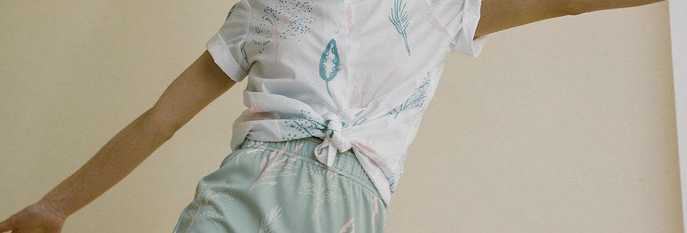 Fara Mint Skirt