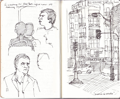 Sketchbook- Paris, France