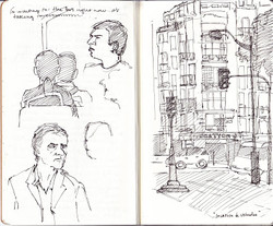 Sketchbook- Paris, France