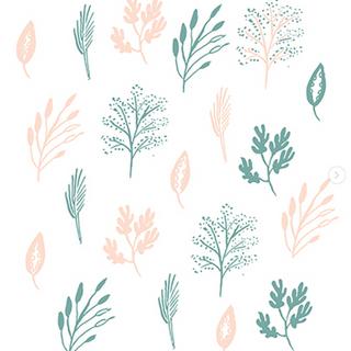 textile illustration for my little belleville SS18