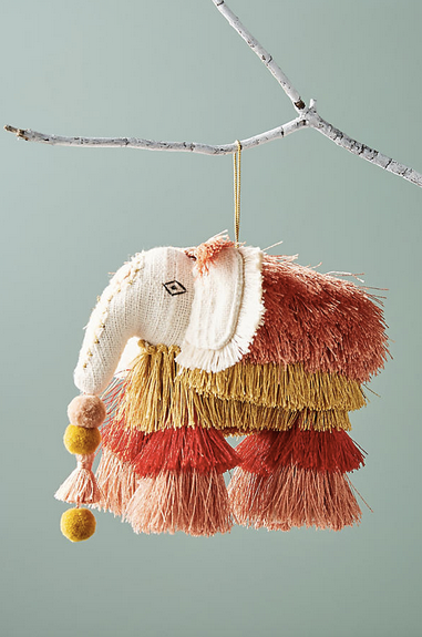 Elephant Tree Topper for Anthropologie