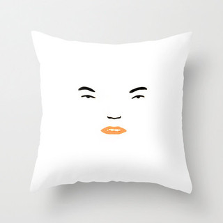 face pillow for my little belleville