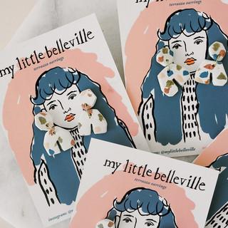 earrings for my little belleville