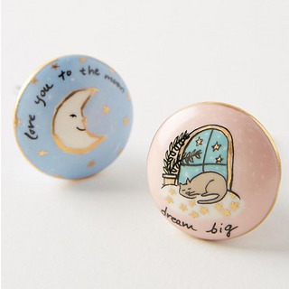 illustrated knobs for Anthropologie