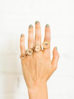 Lover's Eye Rings