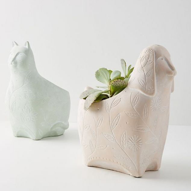 helga pots for Anthropologie